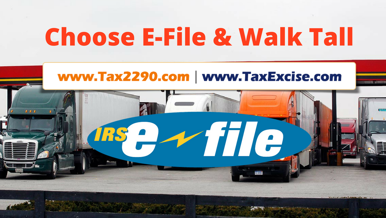 Choose E-File & Walk Tall