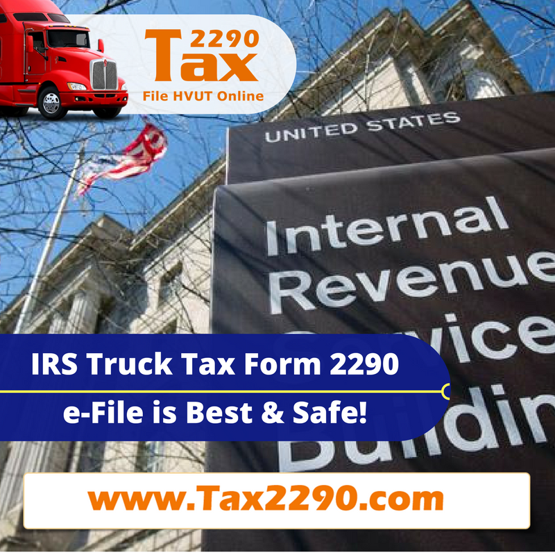 IRS Truck Tax Form 2290