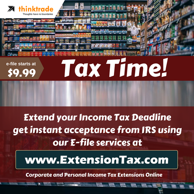 E-File Extension Tax online