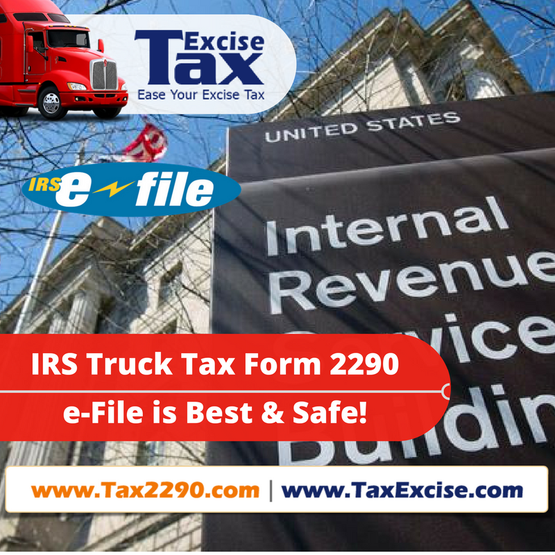 IRS Truck Tax Form 2290 Online