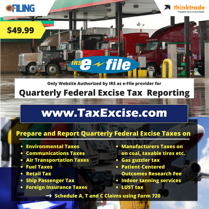 Quarterly Federal Excise Tax Reporting