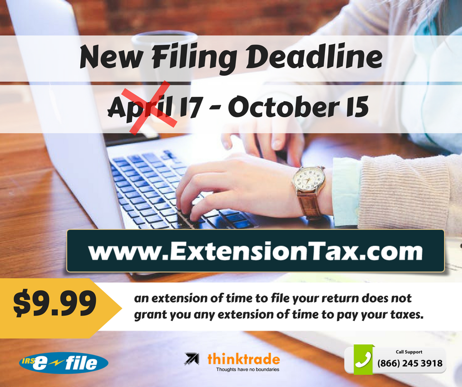April 15 Tax Filing Deadline