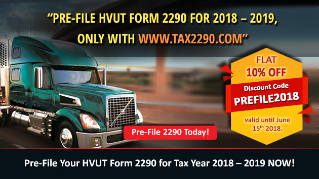 Tax2290 prefile discount code
