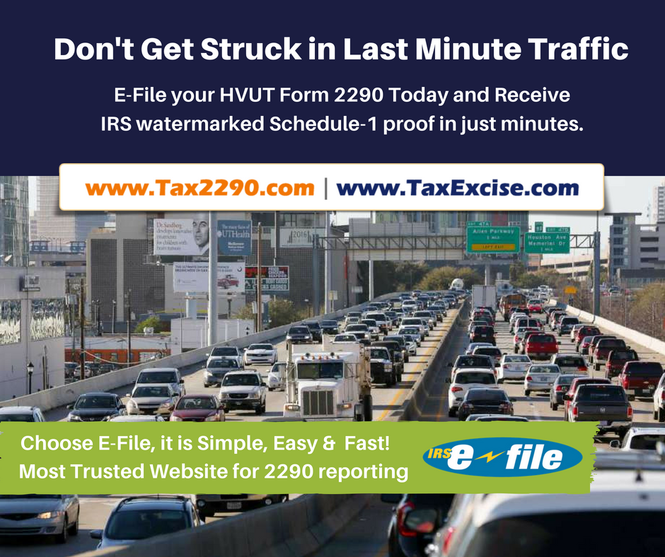 Don't Get Struck in Last Minute Traffic