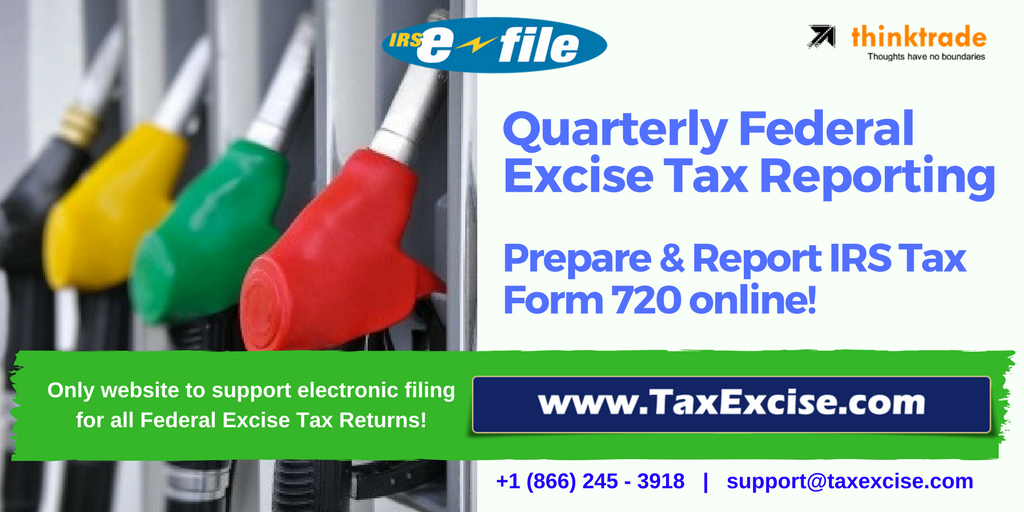 Federal Excise Tax Online Filing - TaxExcise.com