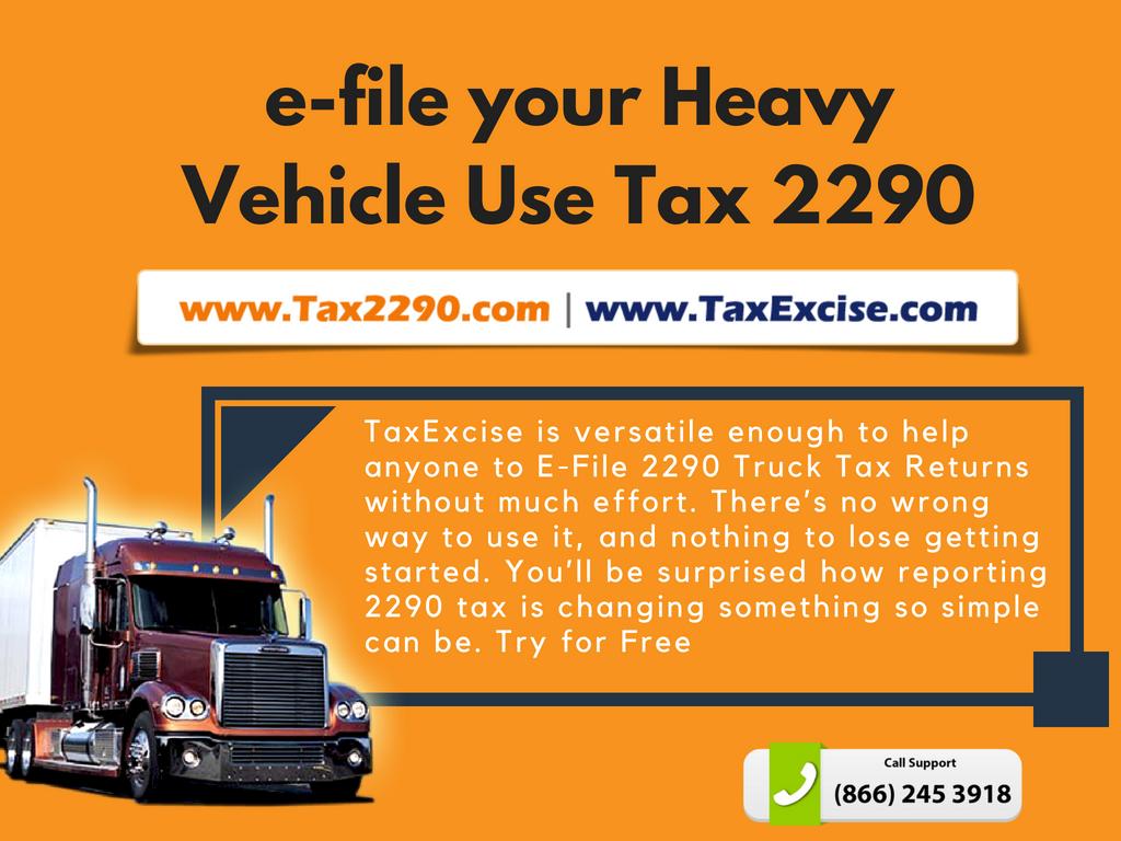 2290 Tax Reporting
