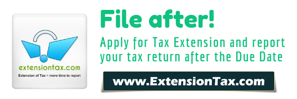 Exempt Business Tax Extension Form 8868