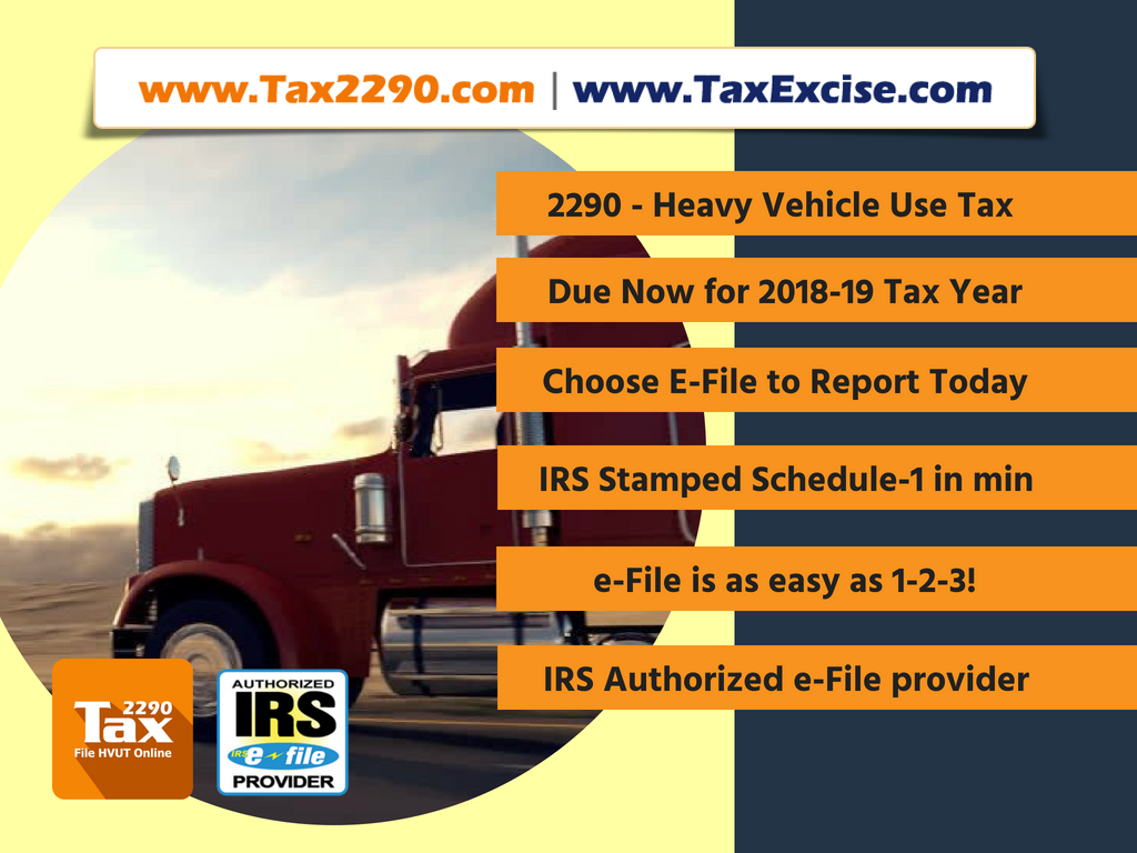 Federal Vehicle Use Tax eFiling