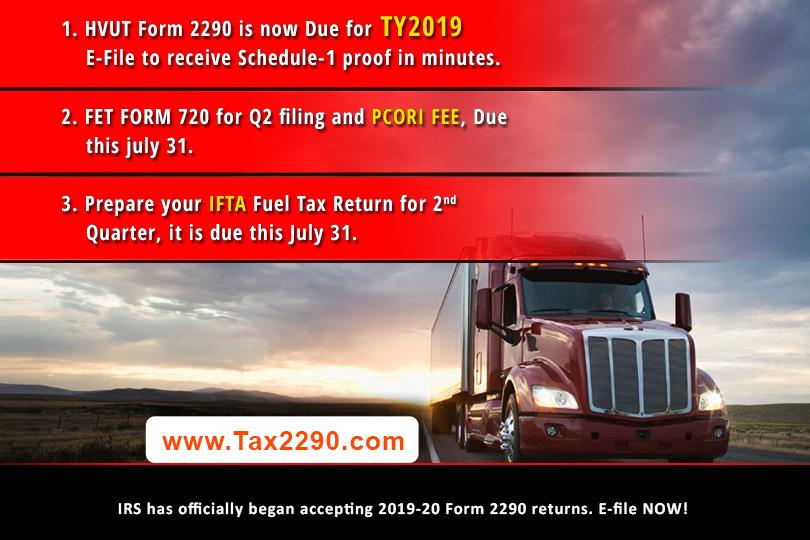 2290 efile at Tax2290.com