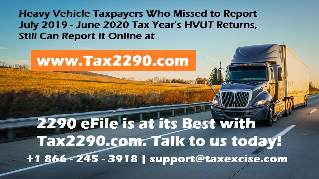 2290 efile with Tax2290