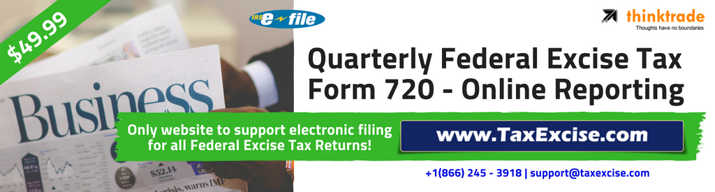 Form 720 Electronic filing