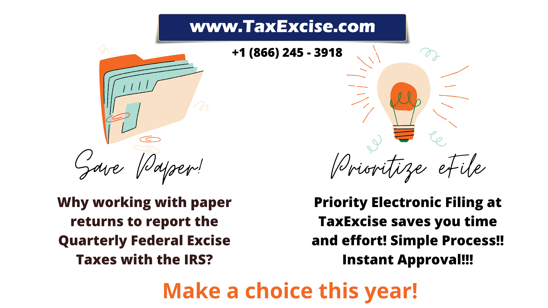 Priority eFile at TaxExcise.com