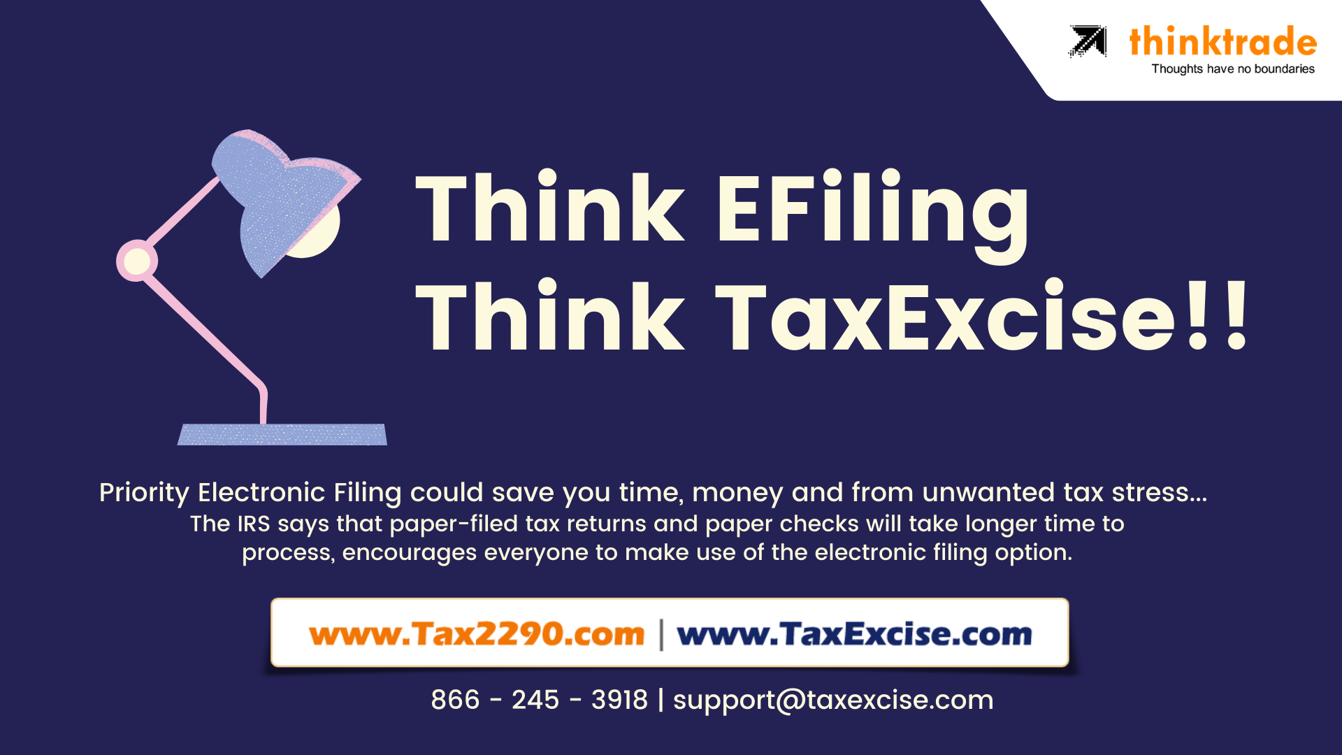 think efiling think taxexcise